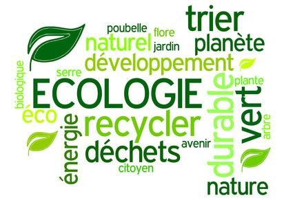 Nuage mots-clés écologie
